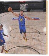 Denver Nuggets v San Antonio Spurs Wood Print