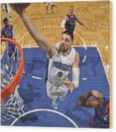 Detroit Pistons v Orlando Magic Wood Print