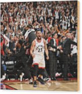 Fred Vanvleet Wood Print