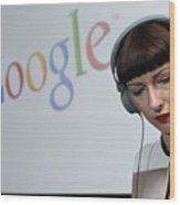 Google Opens New Berlin Office Wood Print