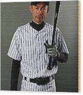 Ichiro Suzuki Wood Print