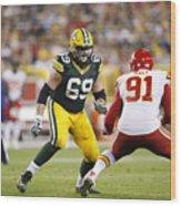Kansas City Chiefs v Green Bay Packers Wood Print