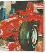Le Mans Wood Print