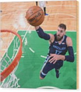 Memphis Grizzlies v Boston Celtics Wood Print