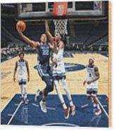 Memphis Grizzlies v Minnesota Timberwolves Wood Print