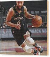 Minnesota Timberwolves v Chicago Bulls Wood Print