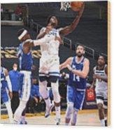 Minnesota Timberwolves v LA Lakers Wood Print