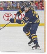 NHL: MAR 29 Red Wings at Sabres Wood Print