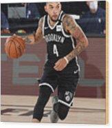 Sacramento Kings v Brooklyn Nets Wood Print