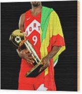 Serge Ibaka Wood Print