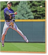 Troy Tulowitzki Wood Print