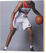 2020-21 Washington Wizards Content Day Wood Print