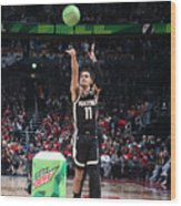 2020 NBA All-Star - MTN DEW 3-Point Contest Wood Print