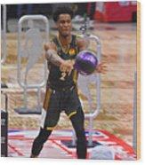 2020 NBA All-Star - Taco Bell Skills Challenge Wood Print