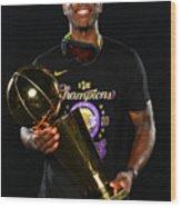 2020 NBA Finals - Los Angeles Lakers v Miami Heat Wood Print
