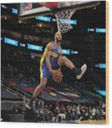 2021 NBA All-Star - AT&T Slam Dunk Contest Wood Print