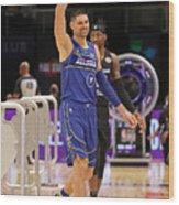 2021 NBA All-Star - Taco Bell Skills Challenge Wood Print