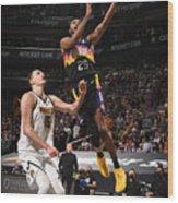 2021 NBA Playoffs - Denver Nuggets v Phoenix Suns Wood Print
