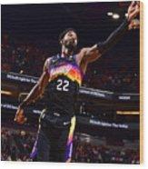 2021 NBA Playoffs - Los Angeles Lakers v Phoenix Suns Wood Print