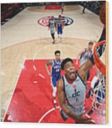 2021 NBA Playoffs - Philadelphia 76ers v Washington Wizards Wood Print