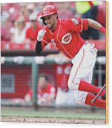 Billy Hamilton Wood Print
