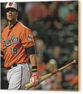 Chris Davis Wood Print