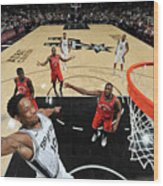 Demar Derozan Wood Print