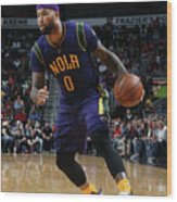 Demarcus Cousins Wood Print