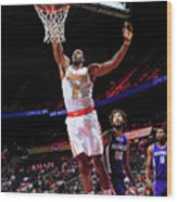Dwight Howard Wood Print