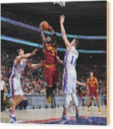 Kyrie Irving Wood Print