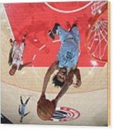 Memphis Grizzlies v Washington Wizards Wood Print