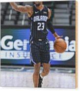 Orlando Magic v Dallas Mavericks Wood Print