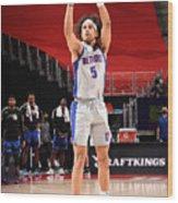 Orlando Magic v Detroit Pistons Wood Print