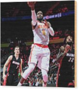 Paul Millsap Wood Print