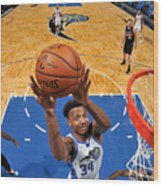 San Antonio Spurs v Orlando Magic Wood Print