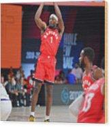 Toronto Raptors v Phoenix Suns Wood Print