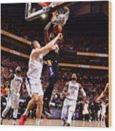 2021 NBA Playoffs - LA Clippers v Phoenix Suns Wood Print
