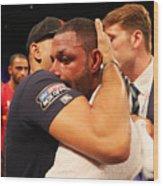 Boxing at O2 Arena Wood Print