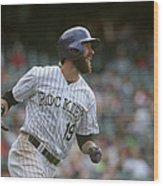 Charlie Blackmon Wood Print
