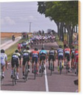 Cycling: 104th Tour de France 2017 / Stage 7 Wood Print