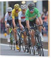 Cycling: 4th Tour de France Saitama Criterium 2016 Wood Print
