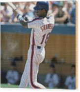 Darryl Strawberry Wood Print