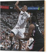 Joe Johnson Wood Print