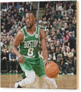 Kemba Walker Wood Print
