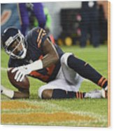 Minnesota Vikings v Chicago Bears Wood Print