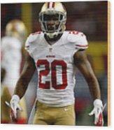 NFC Championship - San Francisco 49ers v Atlanta Falcons Wood Print