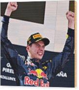 Spanish F1 Grand Prix Wood Print