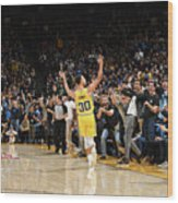 Stephen Curry Wood Print