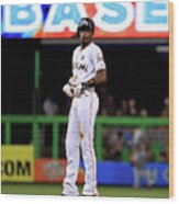 Dee Gordon Wood Print