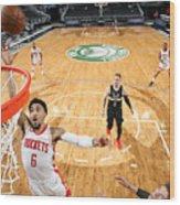 Houston Rockets v Milwaukee Bucks Wood Print